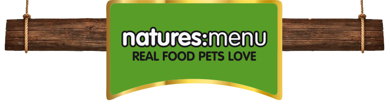NEW: We now stock NATURES MENU raw, frozen dog food